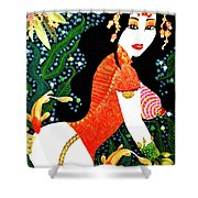 Ma Belle Salope Chinoise No.15 Shower Curtain