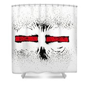 Magnetic Repulsion Shower Curtain