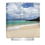 Makena Beach Shower Curtain