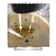 Making A Coffee Shower Curtain
