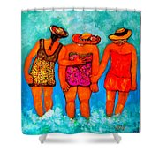 Mamas New Hat Shower Curtain