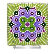 Mandala Of Abundance Shower Curtain