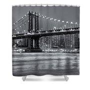 Manhattan Bridge II Shower Curtain