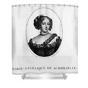 Marie-ang�lique De Rousille Shower Curtain