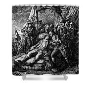 Marquis De Montcalm Shower Curtain