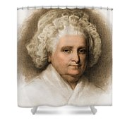 Martha Washington, American Patriot Shower Curtain