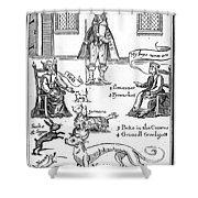 Matthew Hopkins (d. 1647) Shower Curtain by Granger