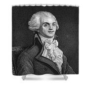 Maximilien Robespierre Shower Curtain