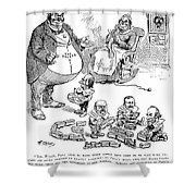 Mckinley Cartoon, 1900 Shower Curtain