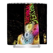 Medieval And Modern Times Shower Curtain