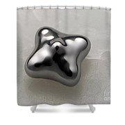 Mercury Under Harmonic Vibration Shower Curtain
