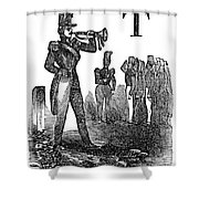 Mexican War: Soldiers Shower Curtain