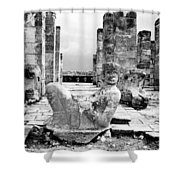 Mexico: Chichen Itza Shower Curtain
