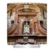 Mezquita Cathedral Architectural Details Shower Curtain
