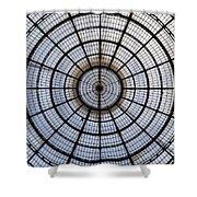 Milan Galleria Vittorio Emanuele II Shower Curtain by Joana Kruse