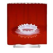 Milk Splash Shower Curtain