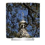 Minaret Through Oak Shower Curtain