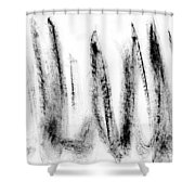 Mind Protecting Sanity Shower Curtain