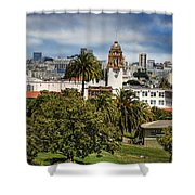 Mission Dolores Park Shower Curtain
