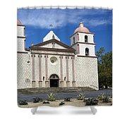 Mission Santa Barbara Shower Curtain