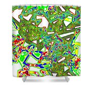 Mix And Mingle Shower Curtain