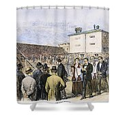 Molly Maguires Executions Shower Curtain