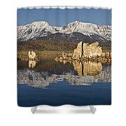 Mono Glow Shower Curtain