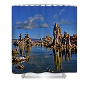 Mono Lake Shower Curtain