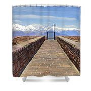 Monte Tamaro Shower Curtain