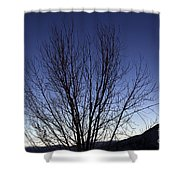 Moon And Venus Conjunction Shower Curtain