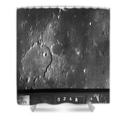 Moon: Ranger 7, 1964 Shower Curtain