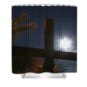 Moon Rising One Shower Curtain