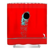 Moonclipse Shower Curtain