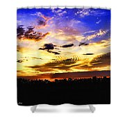 Morning Mix Shower Curtain