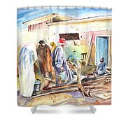 Moroccan Market 02 Shower Curtain