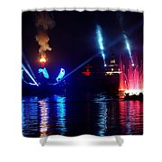 Mother Earth Rising Shower Curtain