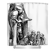Mother Goose Shower Curtain by Granger