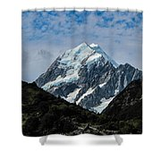 Mount Cook Shower Curtain