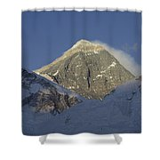 Mount Everest Standing At 29,028 Feet Shower Curtain