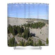Mount Hood Pano Shower Curtain