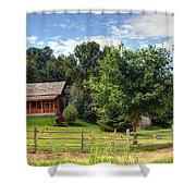 Mountain Cabin - Rural Idaho Shower Curtain