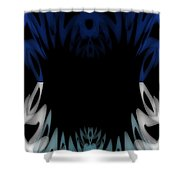 Mouth Of The Beast. Shower Curtain