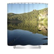Mowich Lake Shower Curtain