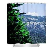 Mt Desert Island Maine Shower Curtain