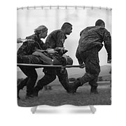 Multinational Medical Personnel Race Shower Curtain