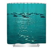 Mumbai In The Morning In December Shower Curtain