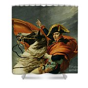 Napoleon Crossing The Alps On 20th May 1800 Shower Curtain