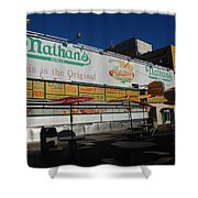 Nathan's Famous Shower Curtain