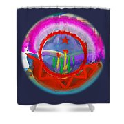 Native American Spring Shower Curtain