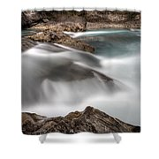 Natural Bridge Yoho National Park Shower Curtain